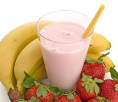 Strawberry and Banana Shake