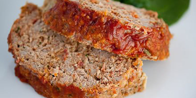Isagenix-Friendly Meal: Turkey Meatloaf