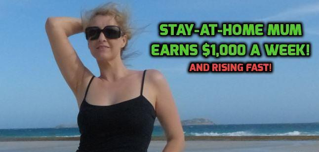 Stay at home mum earning extra income