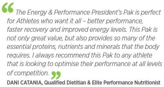 Isagenix Energy and Performance Pak Review
