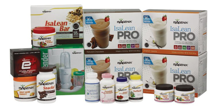 Download the PDF for full list of Isagenix Ingredients