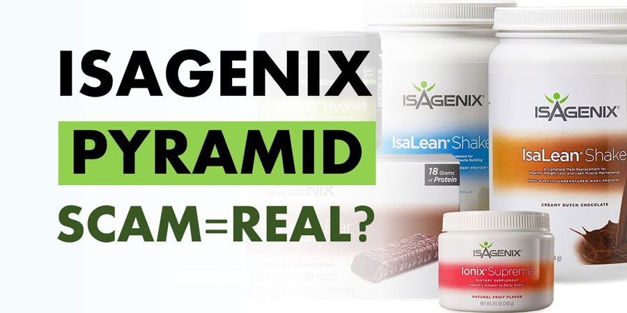 Isagenix Scam or Pyramid Scheme