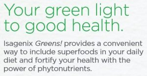 Benefits of Isagenix Greens