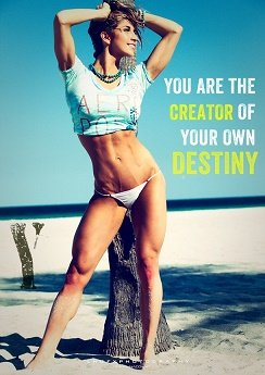 You are the creator of your own health and destiny