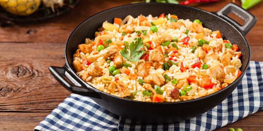 Isagenix Friendly Chicken Fried Rice