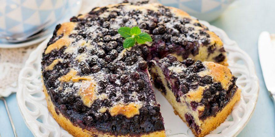 Luscious Lemon Blueberry IsaLean Coffee Cake