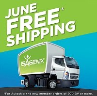 Free Shipping on Isagenix Orders
