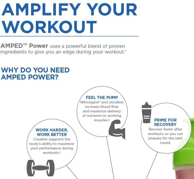 Amazing New Product Isagenix Amped Power