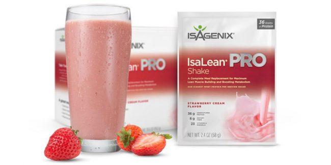 Isagenix Strawberry Shakes are Here!
