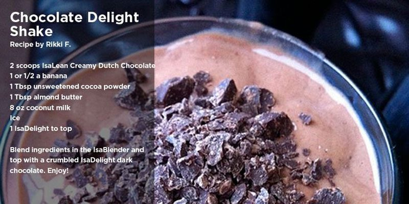 Chocolate Delight Shake