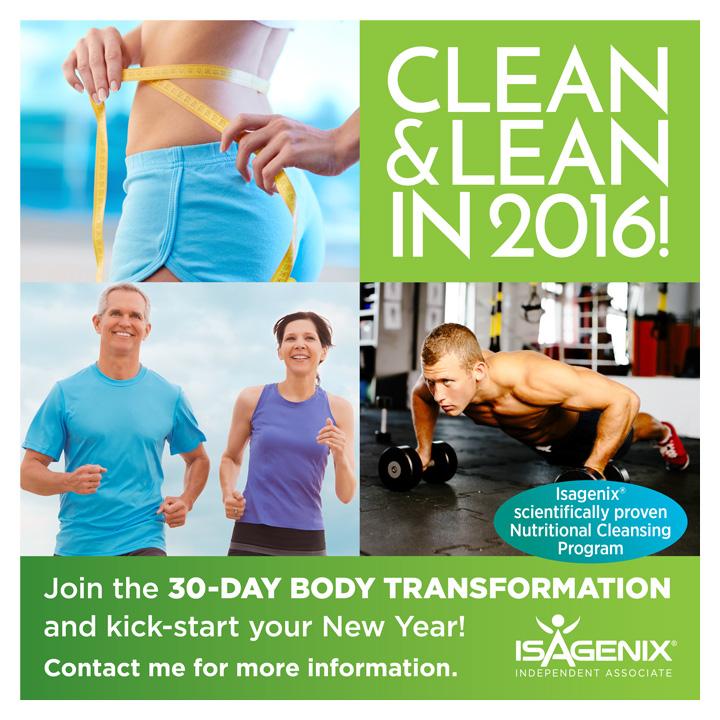 Isagenix 30 Day Transformation