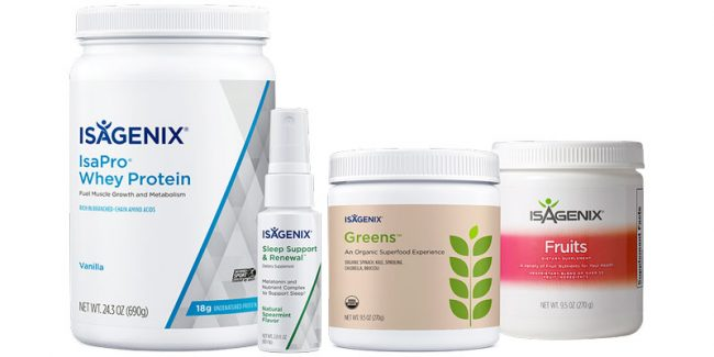 The Isagenix Bedtime Belly Buster