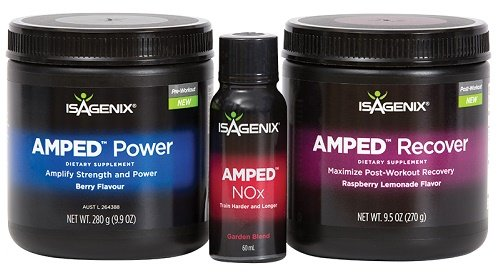 Buy Isagenix Amped Range