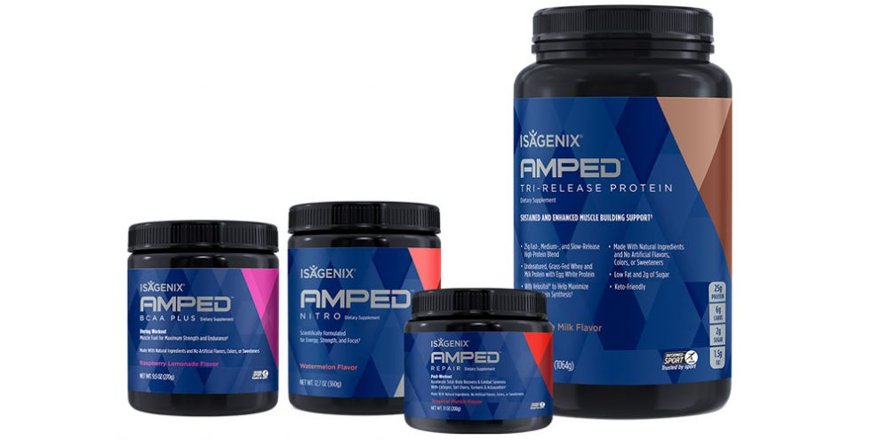 Isagenix's New Product Line is Here to Amplify Your Workouts