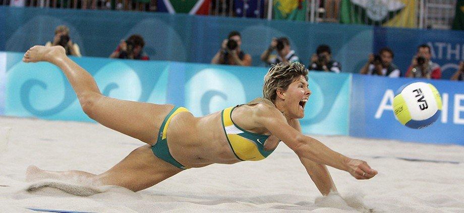 Australias Olympic Hero Natalie Cook