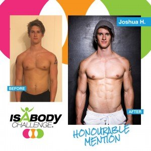 Joshua Built Lean Muscle