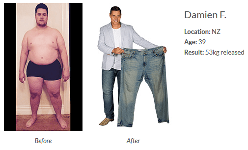 Damien Before and After Isagenix IsaBody Challenge