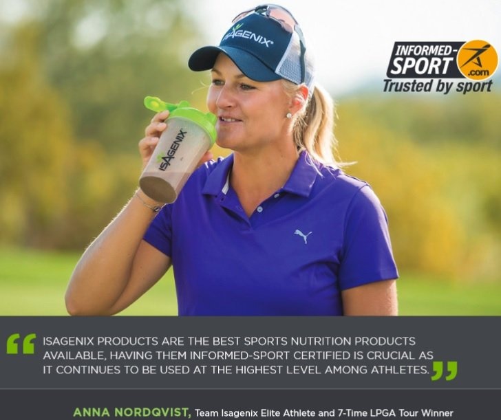 Professional Athletes Using Isagenix