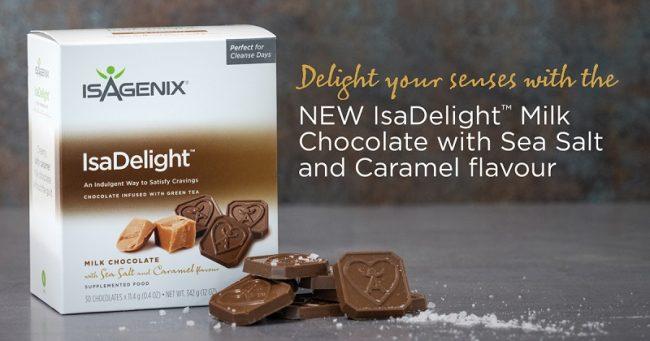 New Isagenix Sea Salt and Caramel IsaDelights