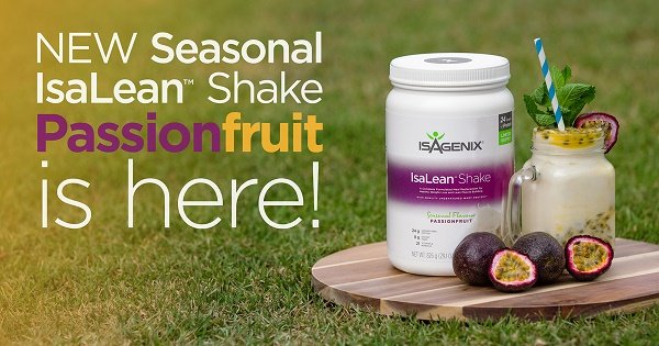 New Isagenix Passionfruit Shake Limited Time Only