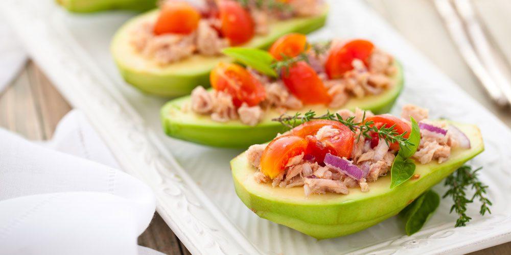Tuna and avocado