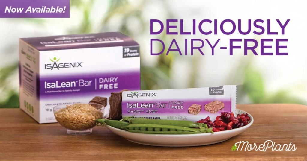 Dairy Free IsaLean Bars Now Available