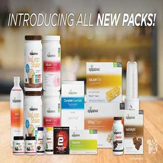 New Isagenix Packs