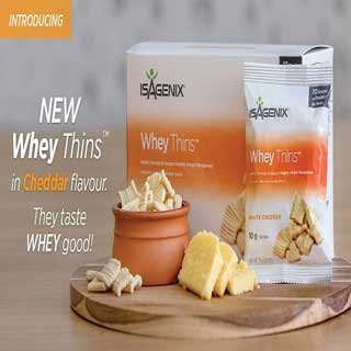 Whey Thins Now Available