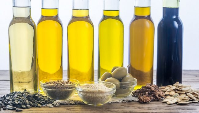 Different Kinds of Cooking Oils