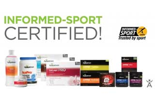Isagenix Products Now Informed Sport Certified