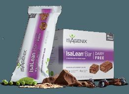 Isagenix Dairy Free IsaLean Bars