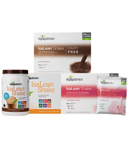Isagenix Shakes in Chocolate, Vanilla or Strawberry