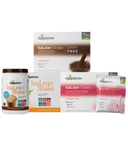 Isagenix Shakes in Chocolate Vanilla or Strawberry