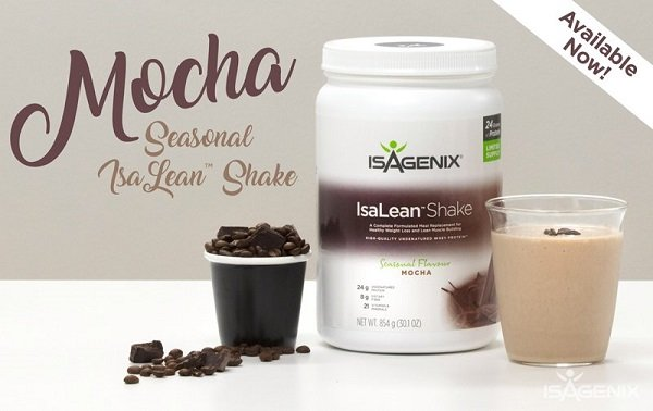 NEW Isagenix Mocha Shake