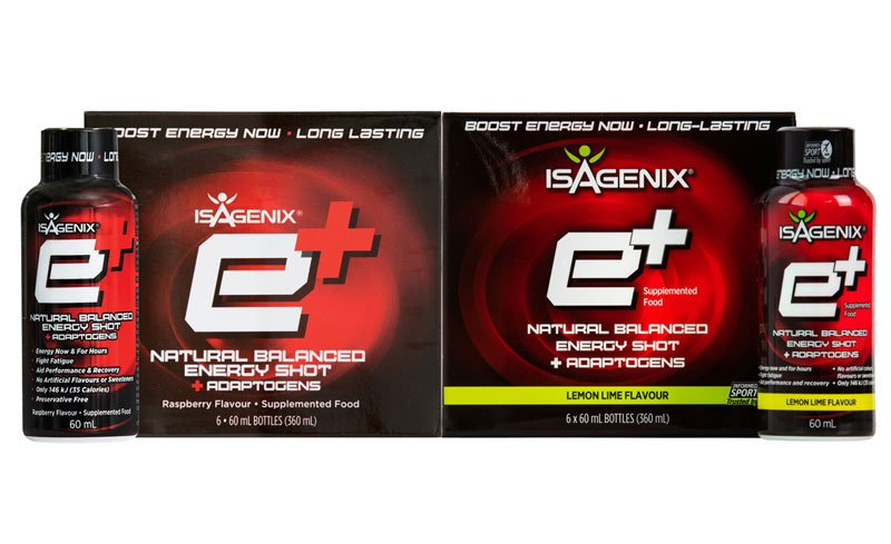 Isagenix eshots new flavours