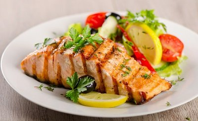 Salmon is Atkins diet friendly