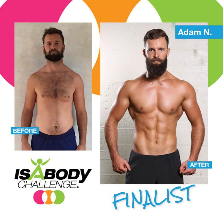 Adams Isagenix Results