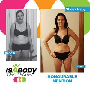 Shona Haby's Isagenix Cleanse Results