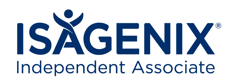 Isagenix Associate Logo Blue
