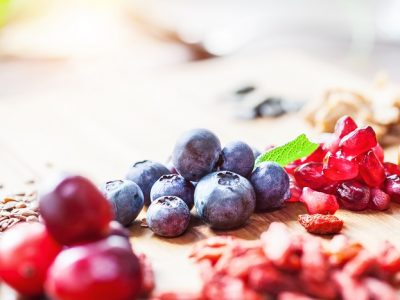 Pomegranate seeds offer a host of health benefits