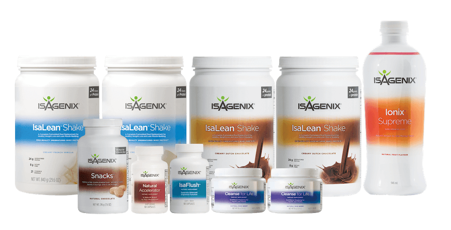 Isagenix 30 day cleanse weight loss system