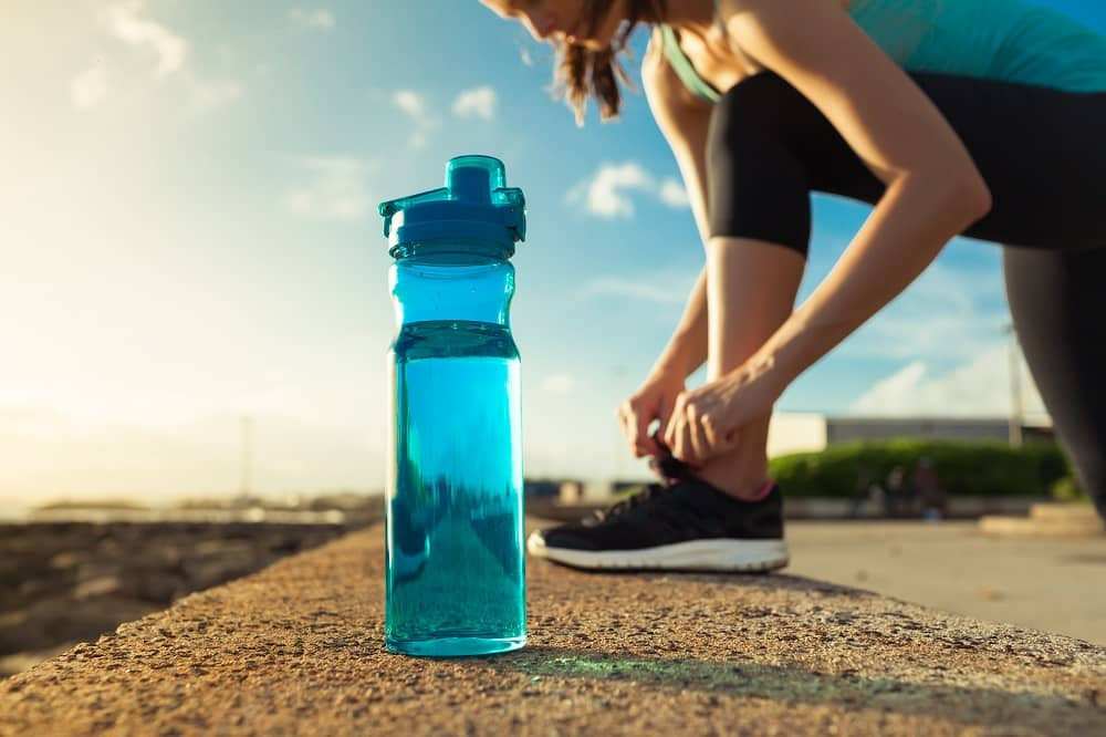 Stay hydrated when you exercise