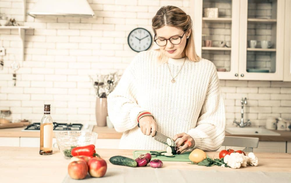 Cooking your own meals not only saves money, it's also healthier than buying processed foods.
